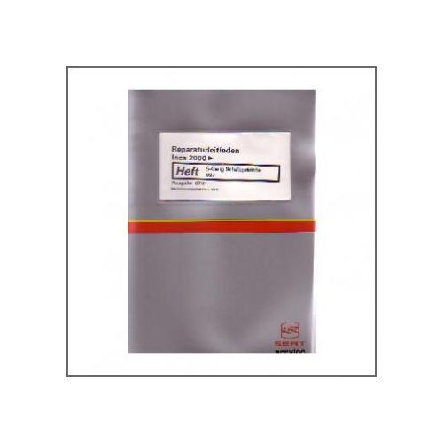 Seat Inca (>00) Schaltgetriebe 5-Gang 02J - Reparaturleitfaden