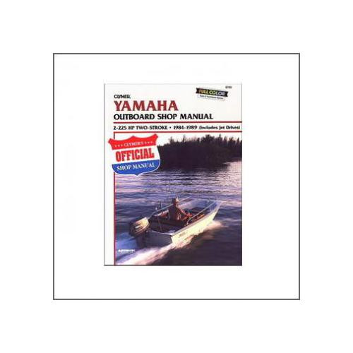 Yamaha 2-225 HP Two-Stroke Outboards & Jet Drives (84-89) - Werkstatthandbuch