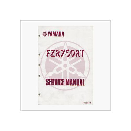 Yamaha FZR 750 RT - Shop Manual