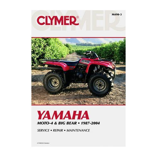 Yamaha Moto-4 and Big Bear (87-04) - Repair Manual