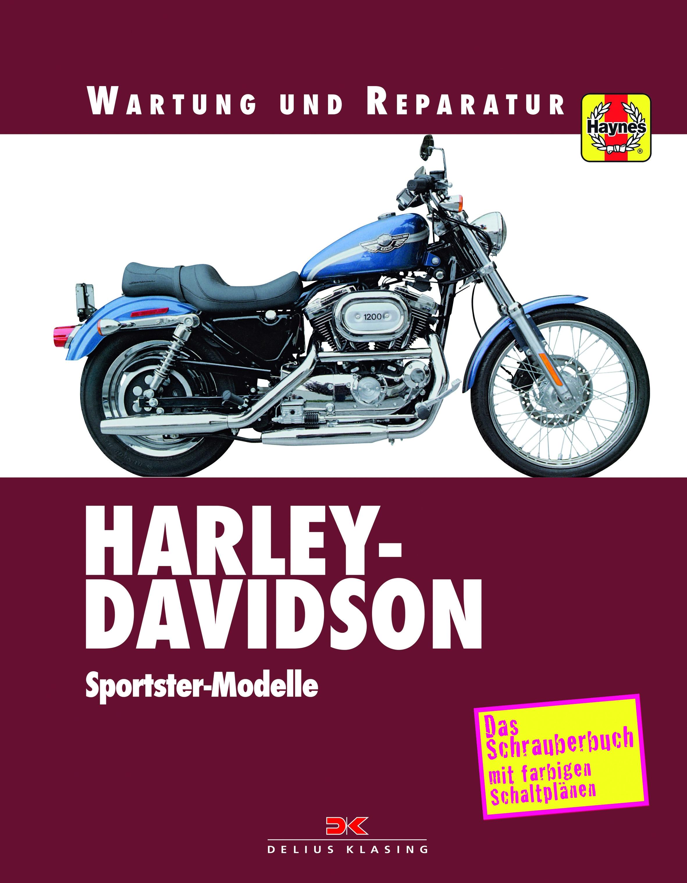Harley Davidson Sportster Reparaturanleitung Schrauberhandbuch