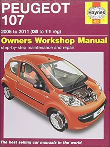 Peugeot 107 Benziner 1,0 Liter (05-11) Repair Manual Haynes