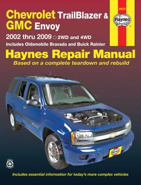 Chevrolet Trailblazer / GMC Envoy (02-09) Repair Manual Haynes