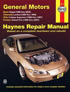 Chevrolet Lumina Repair Manual Haynes