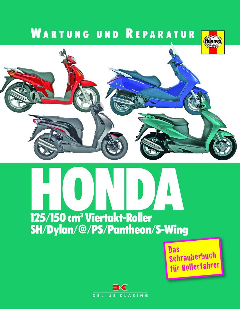 HONDA 125 / 150 cm3 Viertakt-Roller Reparaturanleitung Schrauberhandbuch