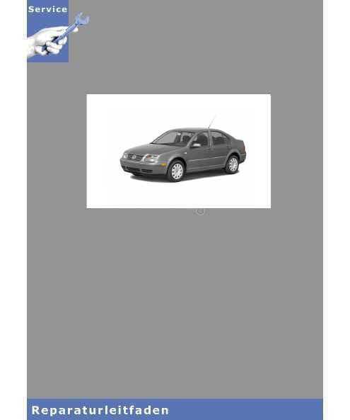 VW Jetta, Typ 1K (05-10) 6 Gang-Schaltgetriebe 02S - Reparaturanleitung