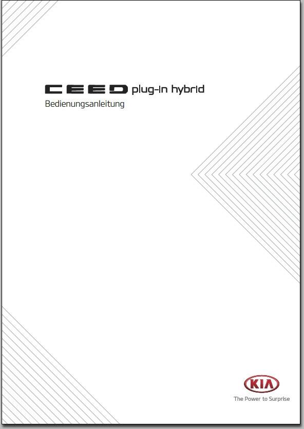 KIA Ceed CD PHEV Bedienungsanleitung