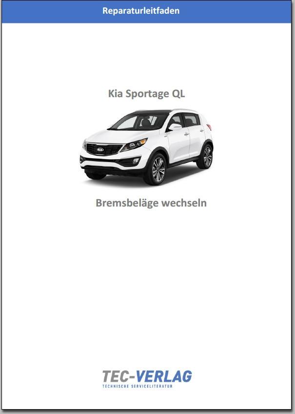 KIA Sportage QL Bremsbeläge wechseln