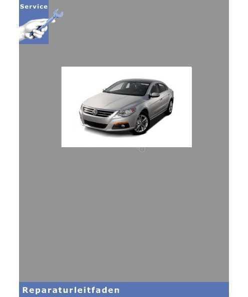 VW Passat CC, Typ 35 (08>) Karosserie-Instandsetzung - Reparaturanleitung