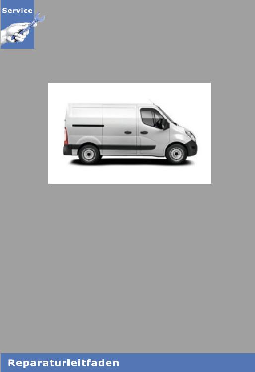 Renault Master III  6-Gang Schaltgetriebe PF6 Werkstatthandbuch