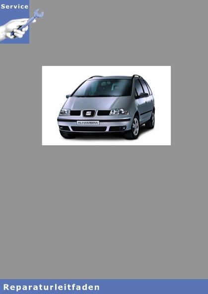 Seat Alhambra Typ 7V9 (00-10) 4-Zyl. Dieselmotor, Mechanik - Reparaturleitfaden