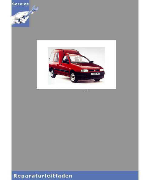 Seat Inca 9K (2000-2003) Schaltpläne komplett - Reparaturanleitung
