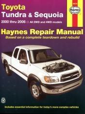 Toyota Tundra and Sequoia (00 - 06) - Repair Manual Haynes