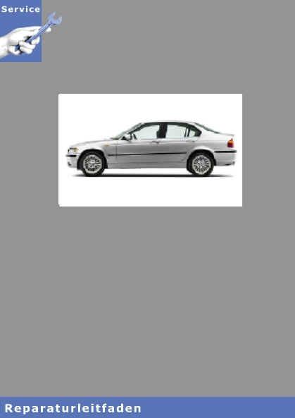 BMW 3er E46 Touring (98-05) Karosserie Ausstattung - Werkstatthandbuch