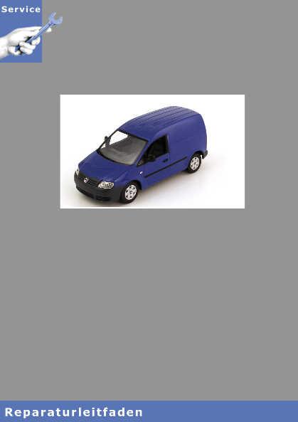 VW Caddy, Typ 2K Bremsanlagen - Reparaturanleitung