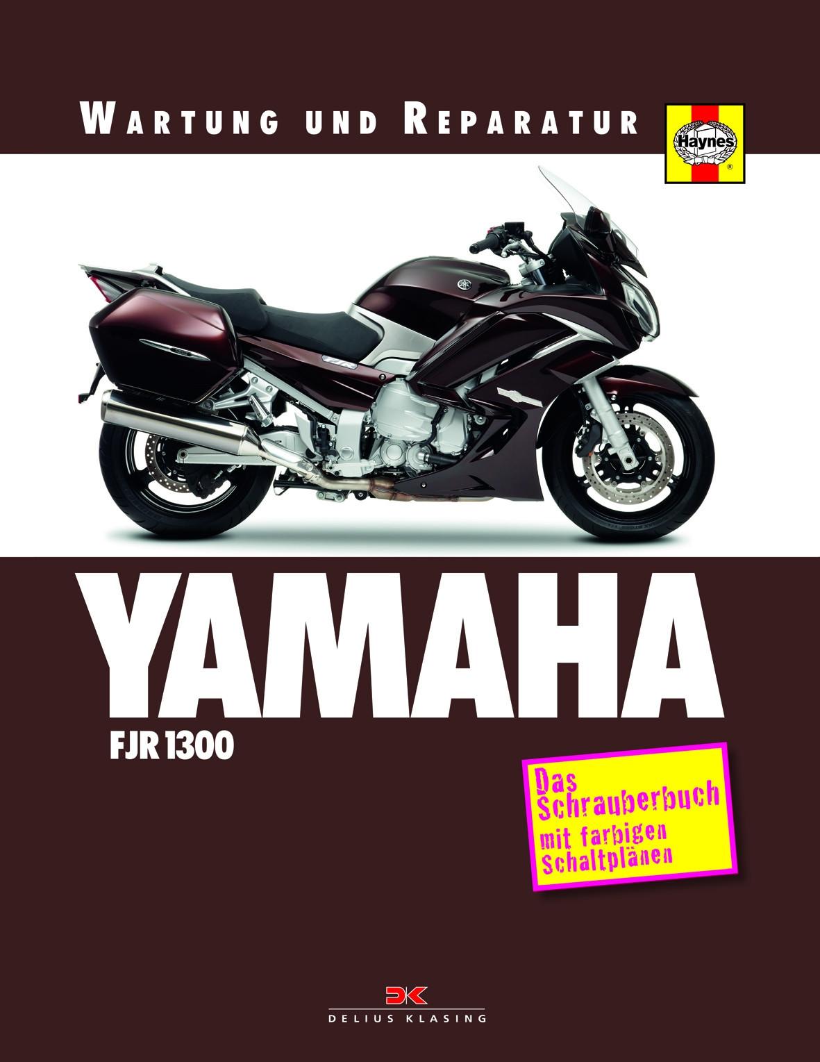 Yamaha FJR 1300 Reparaturanleitung Schrauberbuch