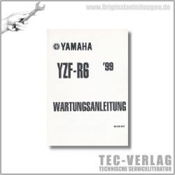 Yamaha YZF-R6 (99) - Wartungsanleitung