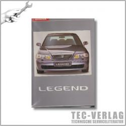 Honda Legend KA9 (95-04) Technik und Daten Ordner