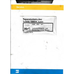 Seat Toledo Leon (99>)  AGN / APG / APT Motronic Einspritz-u. Zündanlage