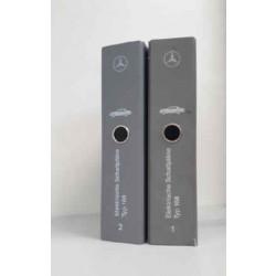 Mercedes A-Klasse Typ 168 - Elektrische Schaltpläne Band 1+2
