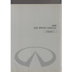 Infiniti Q45 (96-01) - Service Manual Volume 1