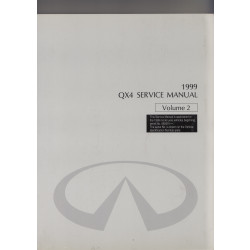Infiniti QX4 (96-02) - Service Manual Volume 2