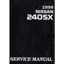 Nissan 240SX (93-99) -  Service Manual Edition 1998