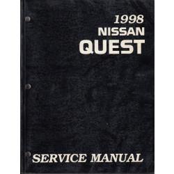 Nissan Quest (93-98) -  Service Manual