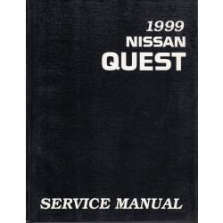 Nissan Quest V40 (93-98) -  Service Manual Edit. 1999