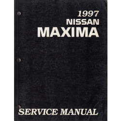Nissan Maxima (95-00) -  Service Manual Edition 1997