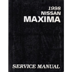 Nissan Maxima (95-00) -  Service Manual Edition 1998