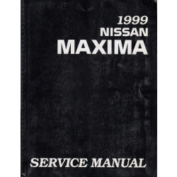Nissan Maxima (95-00) -  Service Manual Edition 1999