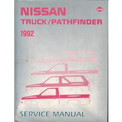 Nissan Pathfinder (86-95) -  Service Manual Edition 1992