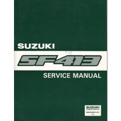 Suzuki Swift SF413 (88-03) - Service Manual