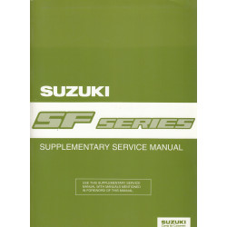 Suzuki Swift SF Series (88-03) - Supplementary Service Manual