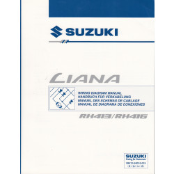 Suzuki Liana (01-07) - Werkstatthandbuch Verkabelung