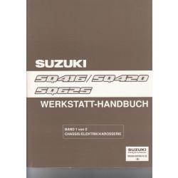Suzuki Grand Vitara (98-01) - Werkstatthandbuch mit 6 Erweiterungen