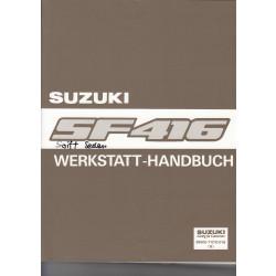 Suzuki Swift Sedan (91) - Werkstatthandbuch mit 1 Erweiterungen