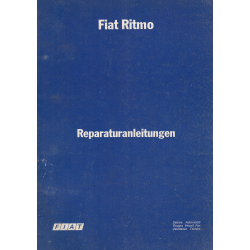Fiat Ritmo L / CL / 105 TC (1978-1981) - Werkstatthandbuch 2-Teilig