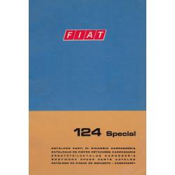 Fiat 124 Special (1968)  - Ersatzteilkatalog Karosserie