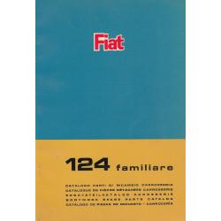 Fiat 124 familiare (1966)  - Ersatzteilkatalog Karosserie