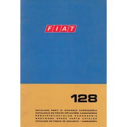 Fiat 128 (1973)  - Ersatzteilkatalog Karosserie