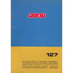 Fiat 127 (1971)  - Ersatzteilkatalog Karosserie