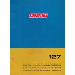 Fiat 127 (1973)  - Ersatzteilkatalog Karosserie