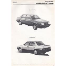 Fiat Regata (1985)  - Werkstatthandbuch