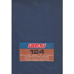 Fiat 124 (1974)  - Ersatzteilkatalog