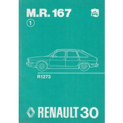Renault 30 / R30 - R1271 (1975) - Werkstatthandbuch