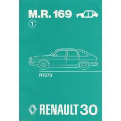 Renault 30 / R30 R1273 (1975) Karosserie - Werkstatthandbuch