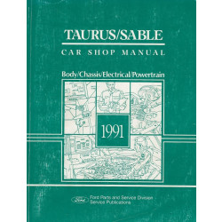 Ford Taurus / Sable (1991) - Car Shop Manual Werkstatthandbuch