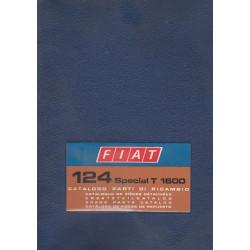 Fiat 124 Special T 1600 (1972)  - Ersatzteilkatalog